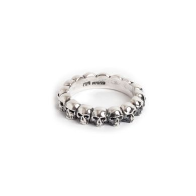 I have this ring it's from the Great Frog in London, it's gorgeous and isn't too girly which is perfect