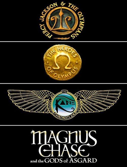 Look at all those Mythologies! Greek, Roman, Egyptian, and finally, Norse! Rick Riordan must now make a Chinese Mythology series! (Frank  Zhang)