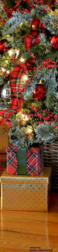 Christmas 2006~~~Everthing tartan in honor of my recent Scottish Sorjourn
