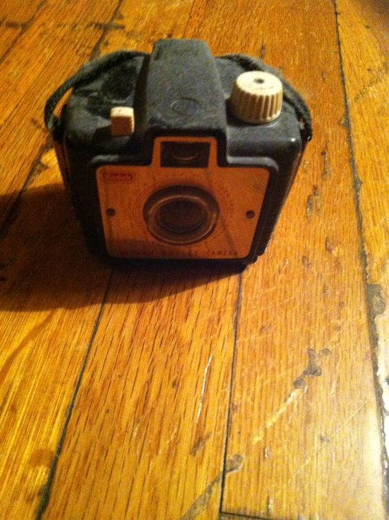 """Brownie Bullet Camera,with Dakon Lens, Made in Rochester NY, USA By Eastman Kodak,"" Circa 1960s???"