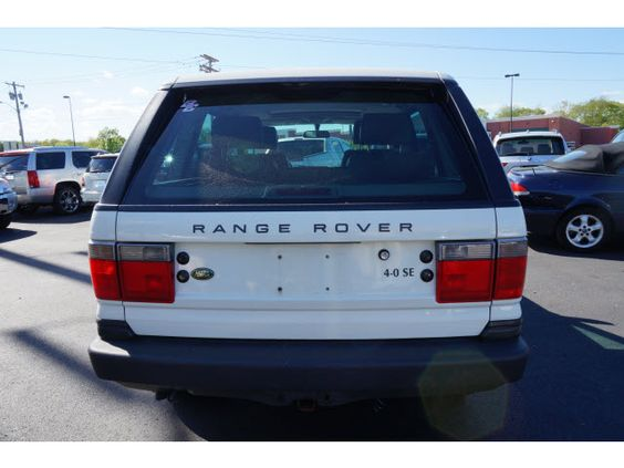 Chawton White Land Rover Range Rover 4 Dr 4.0 SE AWD SUV  http://www.iseecars.com/used-cars/used-land-rover-range-rover-for-sale