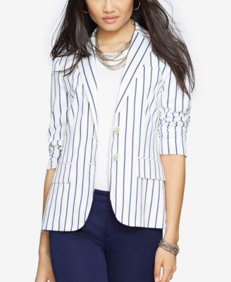 Lauren Ralph Lauren Striped Blazer