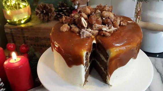 Lebkuchen-Karamell-Torte