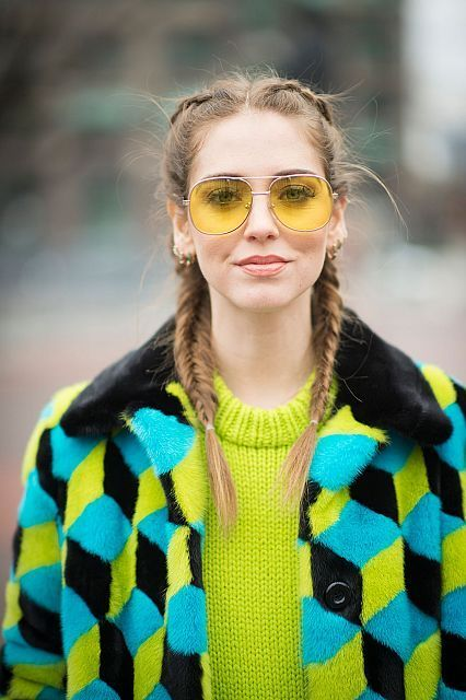 Electric cubes: fifth look of NYFW: