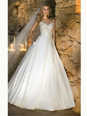 Ball Sweetheart Satin 2013 Wedding Dresses