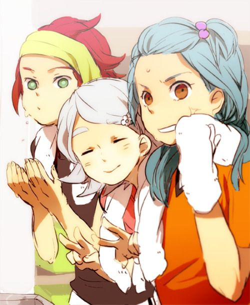 Dear inazuma guys...THE HELL?! *Really nice look*