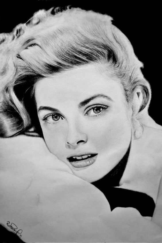 Drawing Grace Kelly