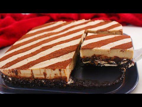 حلى الليزي نسكافيه البارد يحضر بدقائق بدون زبدة وبدون كريمة قدميه لعائلتك في رمضان Youtube Gateaux Et Desserts Desserts