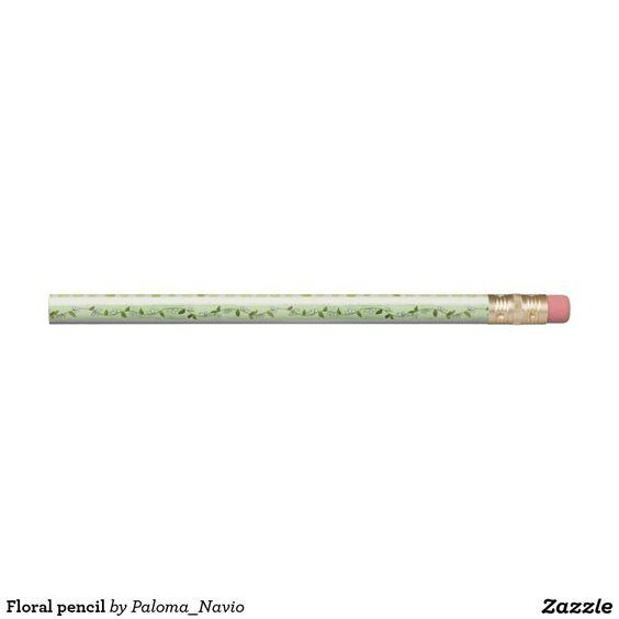 Floral pencil - Paloma Navio