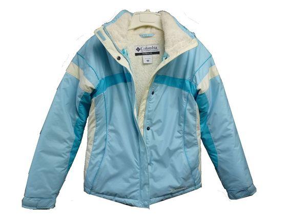 Girls COLUMBIA Sportswear Co. Blue Winter Ski Snowboard Jacket Youth Size 14/16 #Columbia #BasicJacket #Everyday
