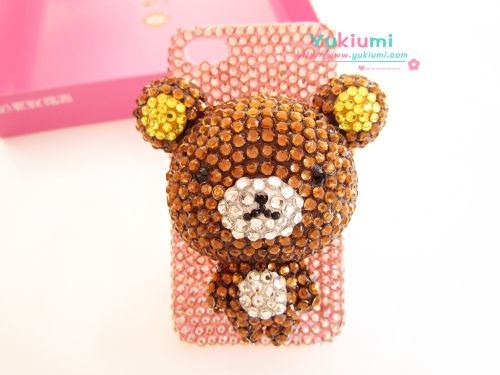 Rilakkuma Brown - Yukiumi, Your Online Japanese Outlet for Hime & Kawaii Accessories