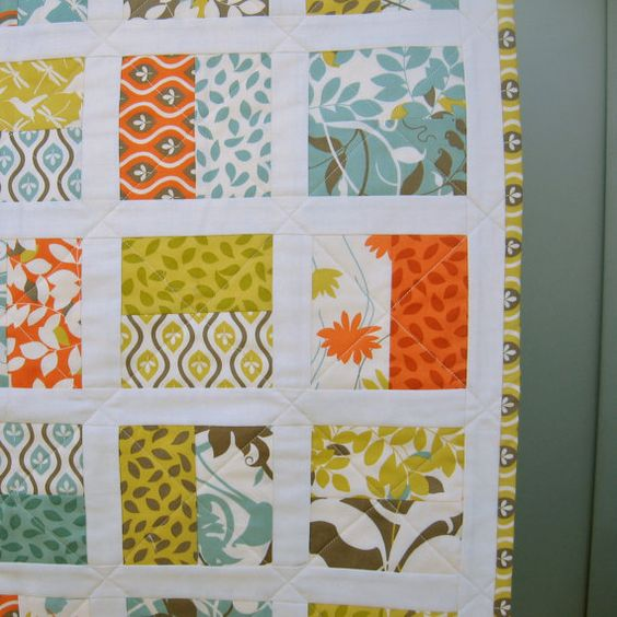 Modern Baby Quilts Charm Pack And Quilt On Pinterest