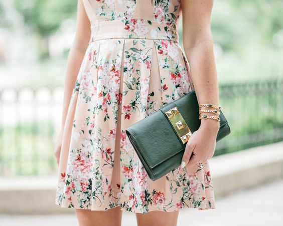 Wedding Guest Style // @bowsandsequins