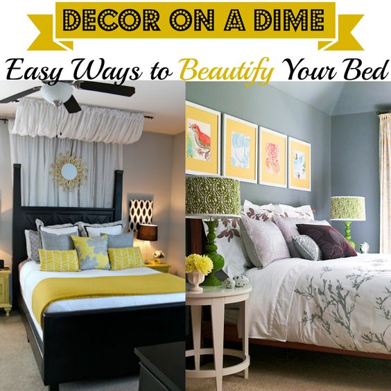 Decor On A Dime Easy Diy Project Do It Yourself Pinterest