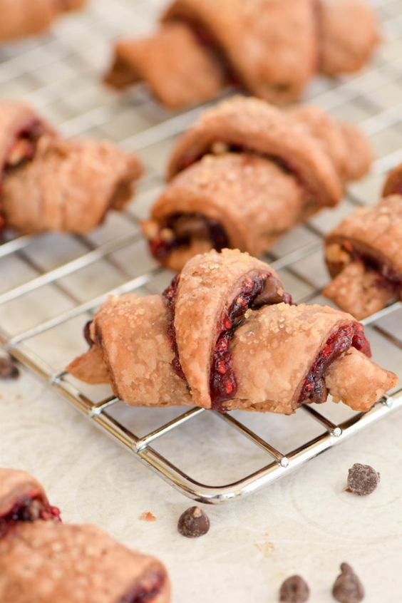 Chocolate Raspberry Rugelach are my task on this classic Jewish cookie ...