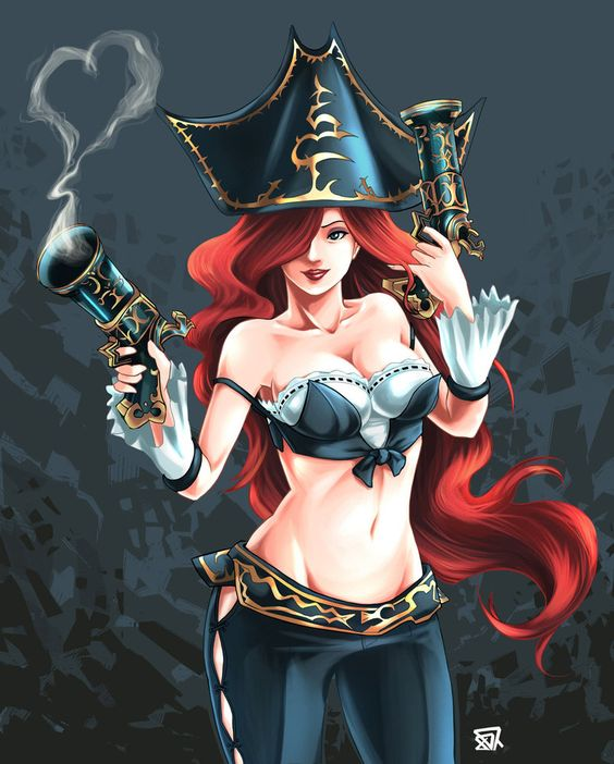 One more fanart of Miss Fortune! Other awesome fanarts on: www.facebook.com/loltribute