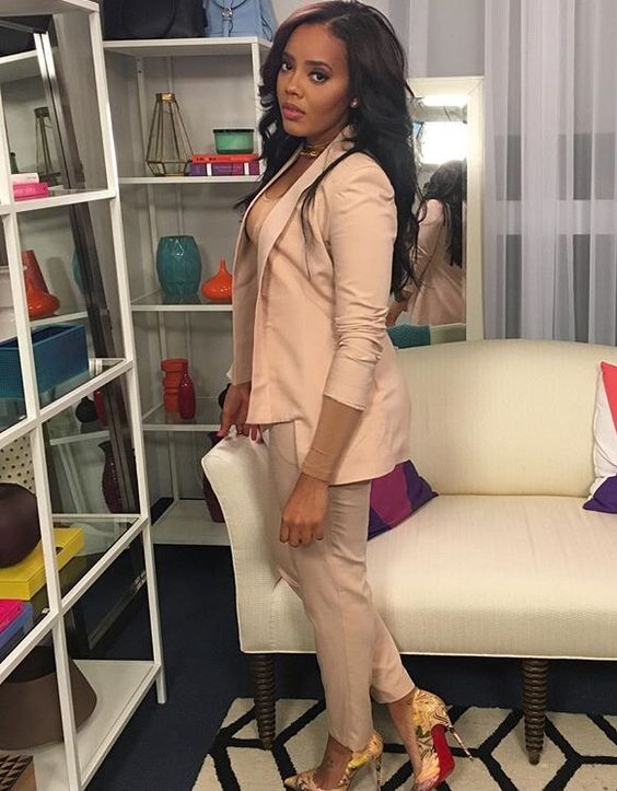 Angela Simmons style