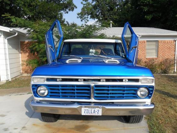 1974 Ford F100 For Sale On Craigslist 12 000 Fortworth Cars