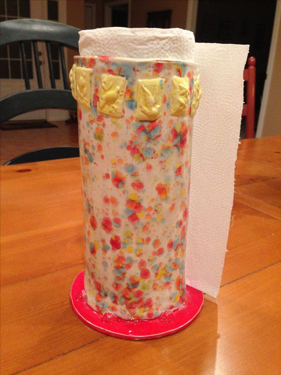 Ceramic paper towel holder | My Crafts