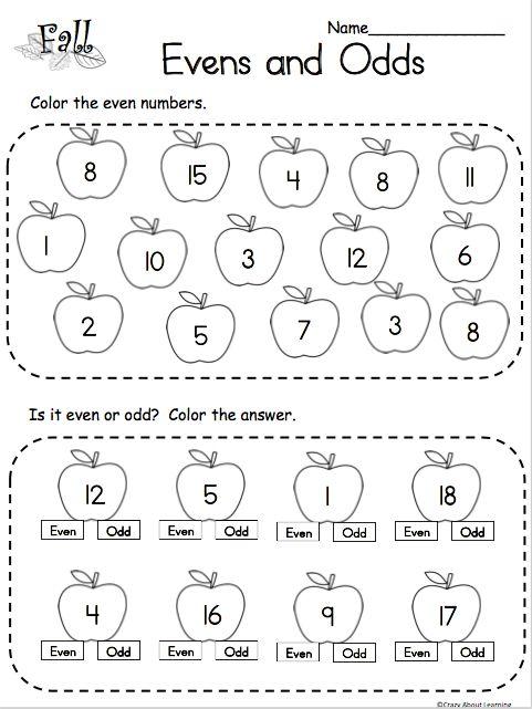 Worksheets Evens And Odds 2nd Grade Math Worksheets Worksheets Free Math Worksheet