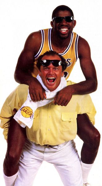 Magic Johnson & Jack Nicholson