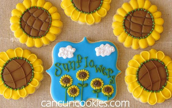Let's smell the flowers {sunflowers}! A virtual party by @haniela's