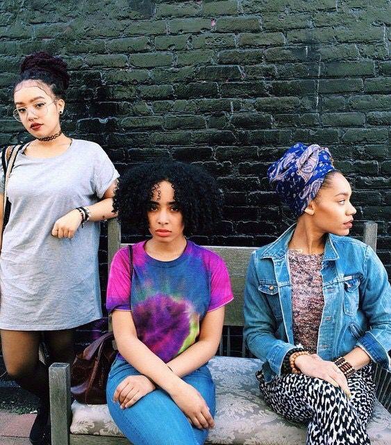 Afro punk beauty