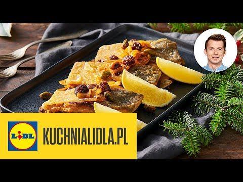 Wigilijny Klasyk W Nowej Odslonie Karp Na Cebulowej Pierzynce Karol Okrasa Kuchnia Lidla Youtube In 2020 Food Chicken Meat