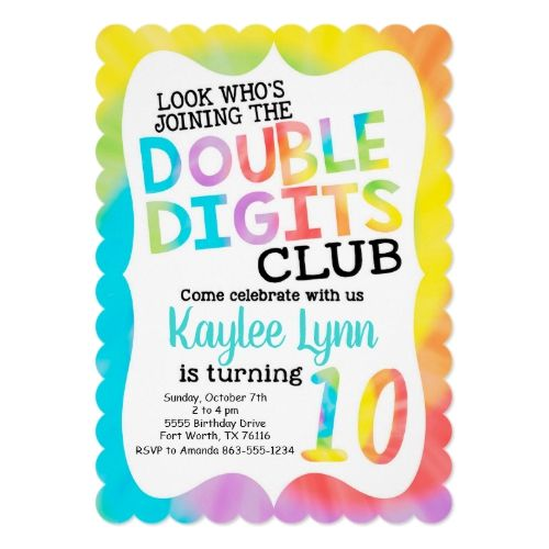 Doubledigits A 10th Birthday Party Lemon Sugar 10th Birthday Parties Girls Birthday Party Themes Boy Birthday Party Themes