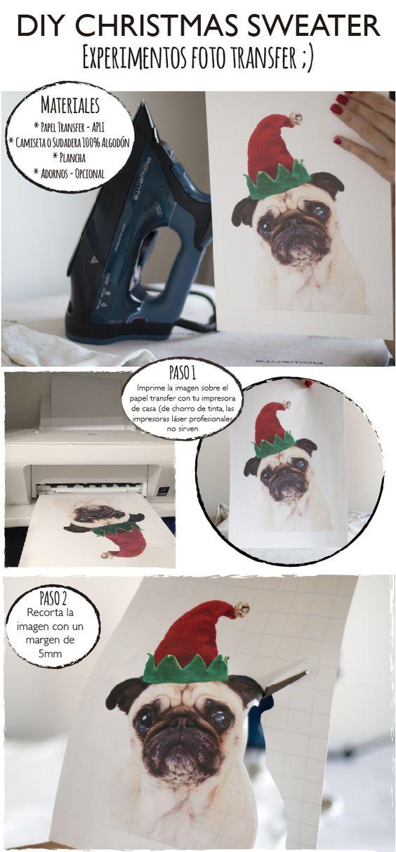 Dare to DIY: DIY Jersey navideño