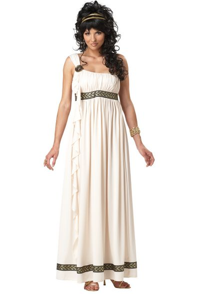 womens greek goddess fancy dress costume for cheap - gods &amp- greeks ...