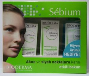 BIODERMA Sebium AKN+ Sebium Serum - Akne ve Siyah Noktalara Karşı Set (Sebium Gel Hediye)