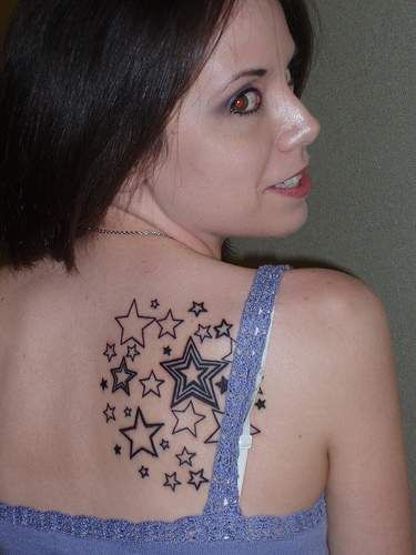 tatuagem estrelas