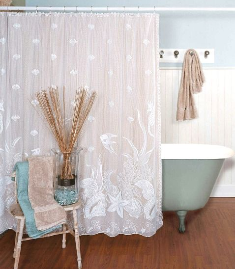 Coastal Beach Shower Curtains To Bring Ocean Side Serenity To Your