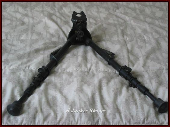 HARRIS Bipod 25C Rifle Legs Jig And Adaptor Used Gun Accessory  http://ajunkeeshoppe.blogspot.com/