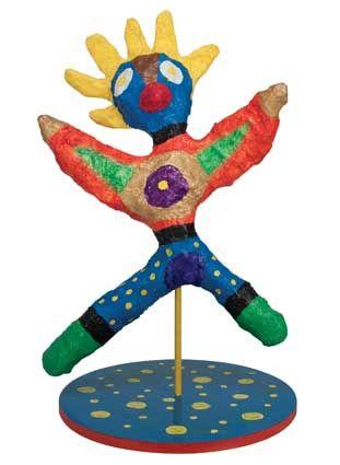 Niki De Saint Phalle inspired sculptures Detailed directions on site