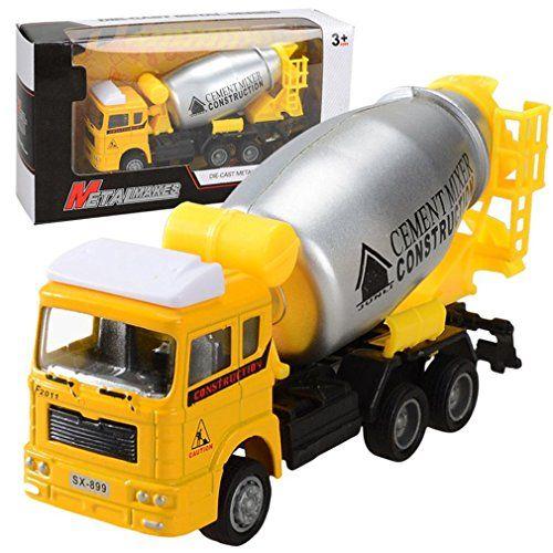 1:32 Children/'s Funny Creative Plastic Toy Car Engineering Car Simulation Truck