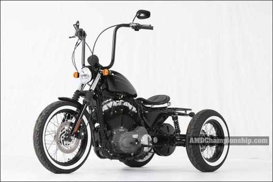 Motorcycle Custom Shallow ????????? ???????