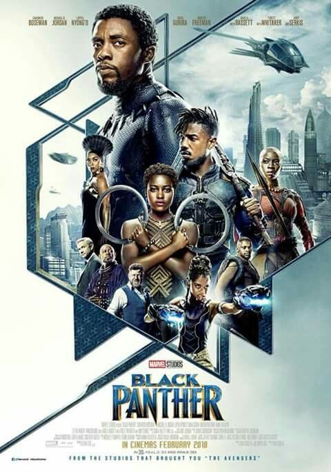 Black Panther Poster Going To See This Awesome Film Tonight Feb