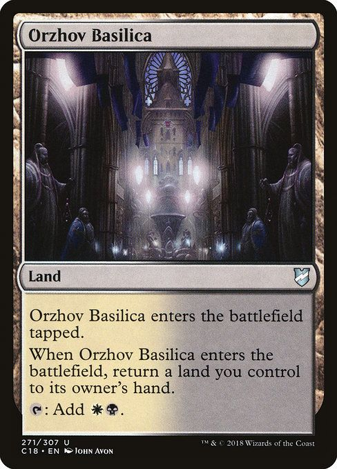 Edhrec Zur The Enchanter Commander Enchantment Theme Magic The Gathering Cards The Gathering Magic The Gathering Sacrifice this to bond to orzhov basilica, a land that has: pinterest