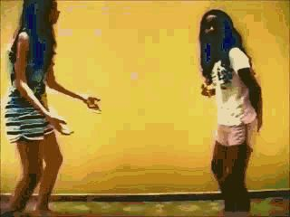 roshambo Our black girl fell to the ground