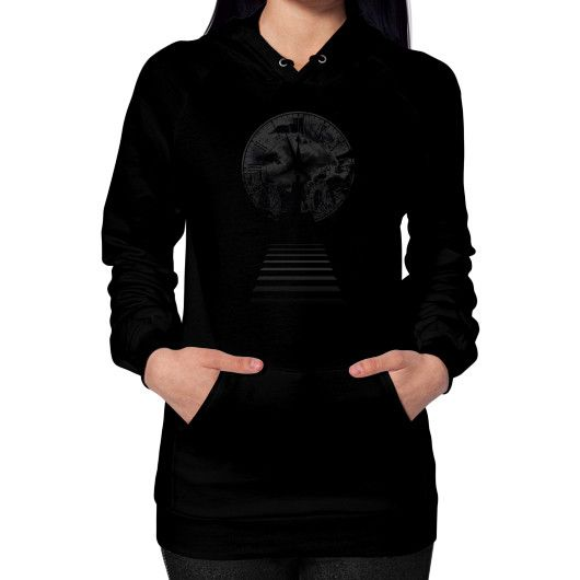 Only Time Hoodie (on woman)