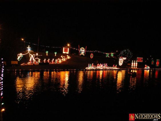1. Natchitoches Christmas Festival of Lights: