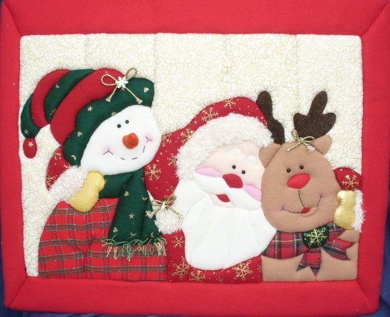 Amigos taller y manualidades margarita cuadros for Cuadros de navidad