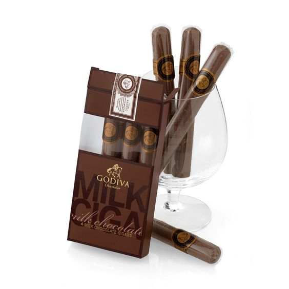 Ok, they are not real, but still . . .  Milk Chocolate Cigars - Godiva