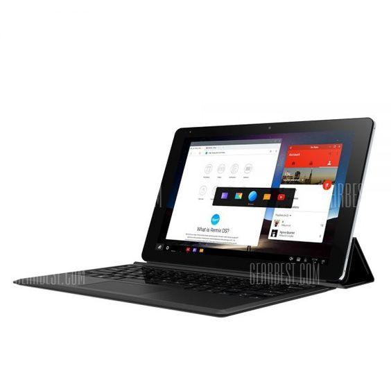 Tablette Tactile CHUWI VI10 PLUS de 10.8 avec REMIS OS 2.0 (Dual Boot Possible) à 118 Bonjour  Vente flash sur cette tablette CHUWIde 10.8 qui est fournie avec REMIS OS 2.0 (Android modifié) mais le dual Boot (Windows 10Android 5.1) est supporté (Root à faire).  Elle est en ce moment proposée chez Gearbest à 118 et vous pouvez également ajouter pour 22 le clavier optionnel.  Je pense que cest un excellent choix pour tester cet OS qui est vraiment pas mal (je lavais testé sur ma miPad) et si…