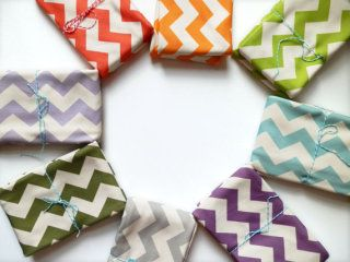 Modern baby blankets at Little Hip Squeaks on Etsy.