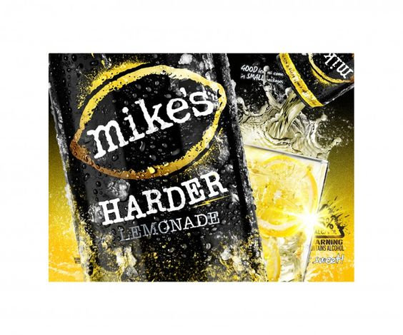 Have an 8% better Tuesday - Mike's Hard Lemonade via Mike Wepplo http://www.mikewepplo.com/portfolio/products/
