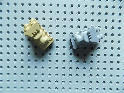 LEGO 30274 LIGHT BLUISH GREY 2 x 3 x 3 MODIFIED BRICK WITH CUTOUT /& LIONS HEAD