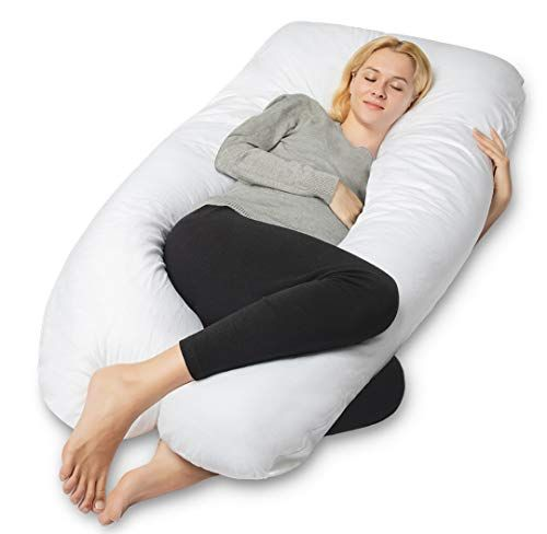 """Side Body Support Pillow Full Body Cover Pillow Hugging Nursing Pillow 55/""""x31/""""Size U-Shaped Maternity Pillow MoMA Pregnancy Pillow Fully Body U-Shaped Maternity Pillow for Pregnant Women"""